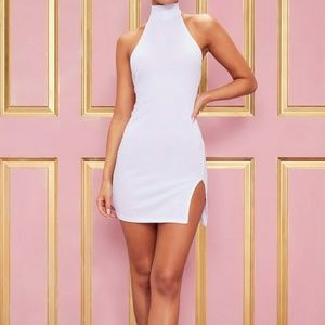 Dresses & Skirts - High Neck Side Split Dress